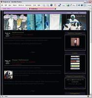 Tadych.us Halloween Web site conversion for 2007.